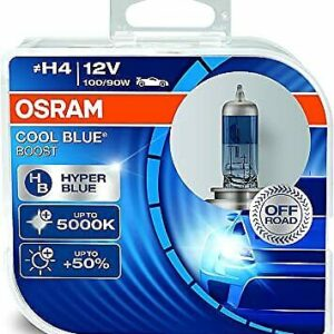 Lampade H4 100-90W 12V Cool Blue Boost Hyper Blue 5000K Off road